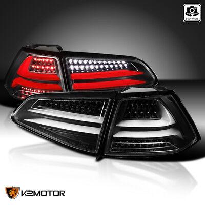 Black Fit 2015-2017 VW Golf GTI MK7 LED Signal Brake Lamps Driving Tail Lights - Gti Led Tail Lights Lamps