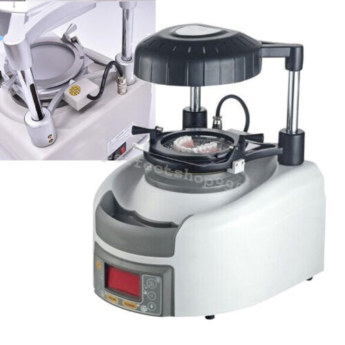 Dental Vacuum Forming Former Thermoforming Machine 11cm lifting tray 8 button A+