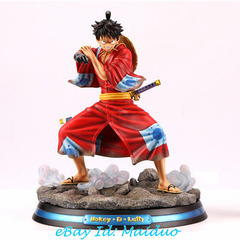 Mk One Piece Monkey D Luffy Statue Figurine Land Of Wano Resin