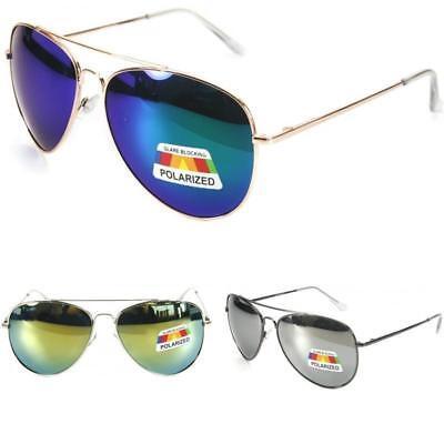 Mens Womens Polarized Sunglasses Designer Pilot style PZ305