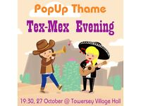 Popup Tex-Mex Evening with Live Music