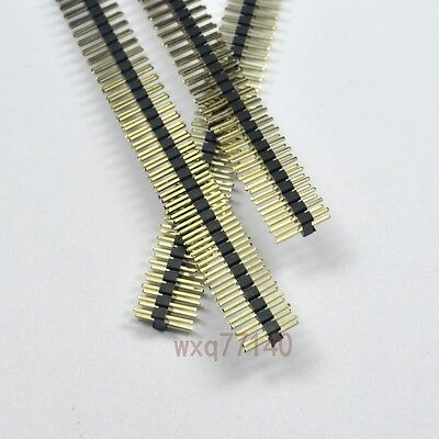 10pcs Rohs 2.0mm 2x40 Pin Header Double Row Male 80p For Dip Pcb Board Convert