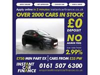 Ford Fiesta 1.0T Zetec S Black Edition LOW WEEKLY PAYMENTS £45