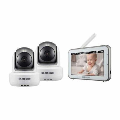 Samsung BrightView Wireless Pan Tilt zoom-Baby Video Monitoring System -2 pack
