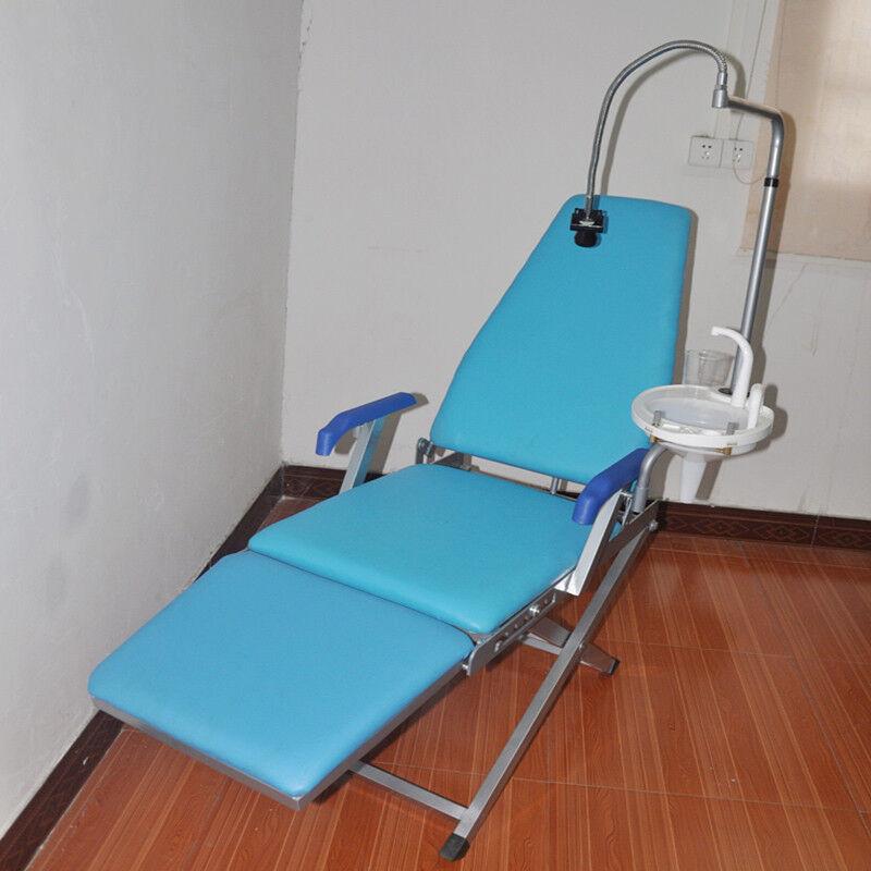 Portable Dental Folding Chair Unit+Water supply+LED Light+spittoon GM-C005