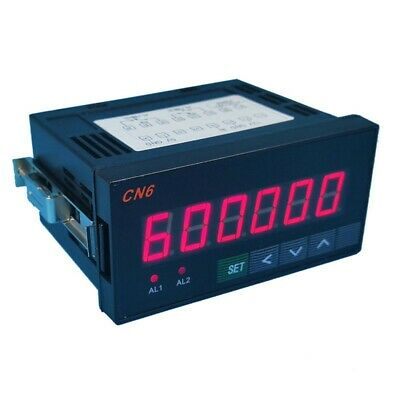 Industrial Digital Counter Number Counter Meter 6-Digit Display with Relay #Top