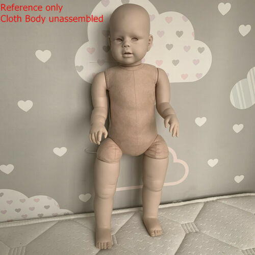 Reborn Toddler Doll Kit Unpainted Mold For 28