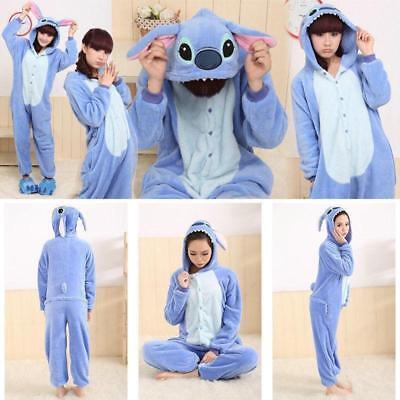 Unisex Adult Animal Onsie0 Kigurumi Pyjamas Fancy Dress Onesie0 Sleepwear E55 - Adult Onsie Costumes