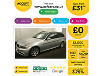 Silver BMW 318 2.0TD 2012 d M Sport Touring FROM £31 PER WEEK!