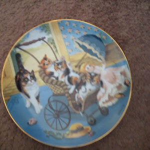 Country Kitties plate collection London Ontario image 5