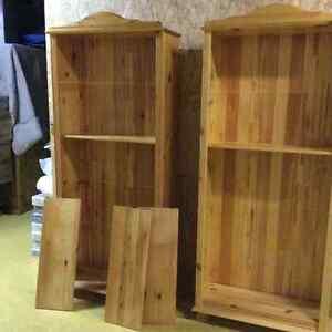 Pine Book Cases