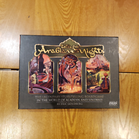 [Negotiable Price] Tales of the arabian nights - board game