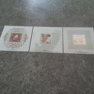 Millenium Stamps and Coins