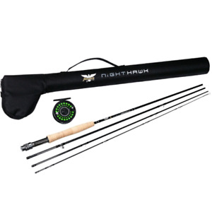 Brand new - Fly rod combo, and 3 baitcast rods. Making room!
