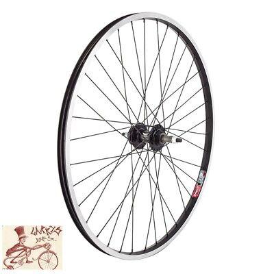 Sun CR18 700 Silver 36H Wheelset 126mm 5 6 7 Speed SunRace 7sp 13-28 Mounted