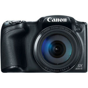 *-new Canon PowerShot 16MP 30x Optical Zoom Digital Camera black