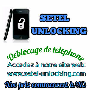 Code de deblocage telephone/ unlocking code/ unlock cell phone