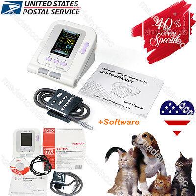 Vet Veterinary Digital Blood Pressure Monitor Dogcatpetsvet Cuffpc Software