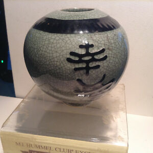 Vintage Japanese Pottery Ware Great Vase