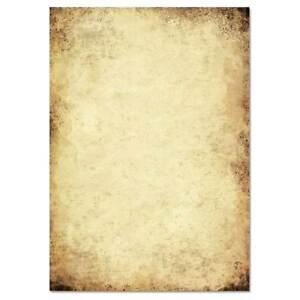Motivpapier ALTES PAPIER 50 Blatt DIN A5 90g/m²