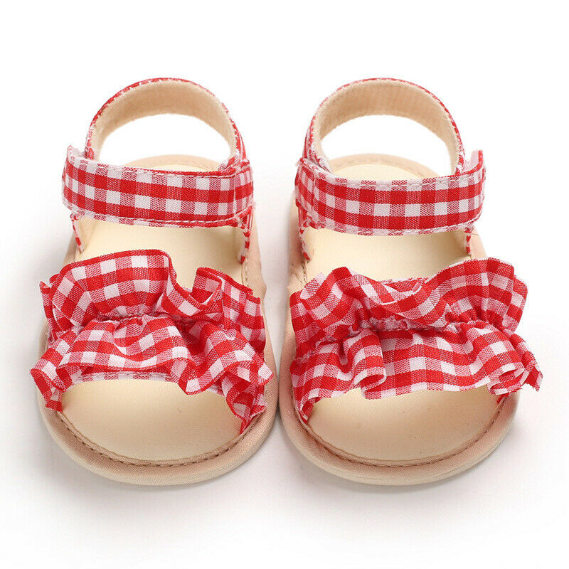 Summer shoes soft bottom breathable sandals for 0-1 years old female baby  1