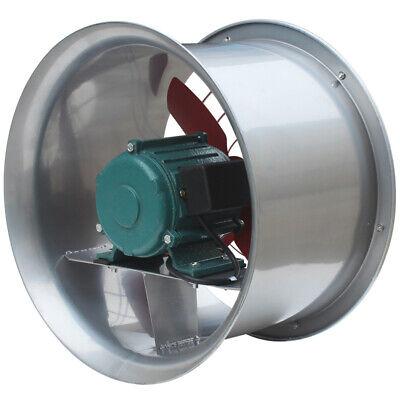 20 220v Industrial Exhaust Fan Cylinder Pipe Fan Wall Mounted Ventilator Draft