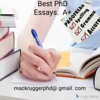 College/University/Masters/PhD paper help. Best Rates