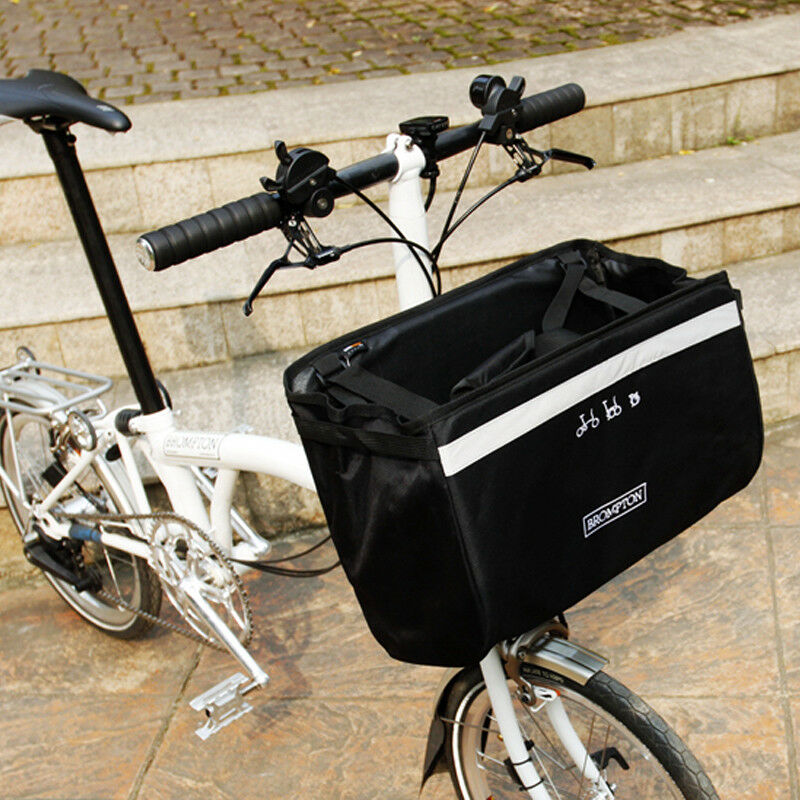 Bike Rack Pack Bags Panniers For Brompton Basket Bag Front Bag Reflective
