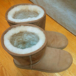 Chestnut Coloured Authentic UGG Boots
