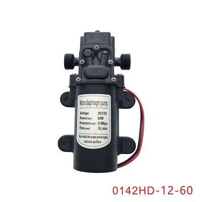 Micro Diaphragm Pump Dc12v 60w 5lmin Electric Water Pump 0142hd-12-60 Tpys