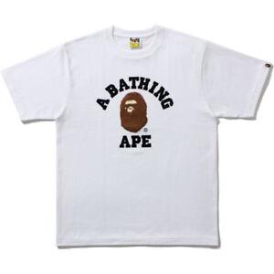 A Bathing Ape Bape College Logo Supreme Japan