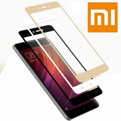 designer fashion 85fae c6450 Details about Full Cover Tempered Glass For Xiaomi Redmi 4X Note 4 Pro 4/5A  Screen Protector B