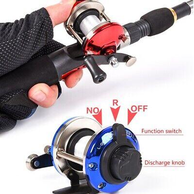 Small Mini Metal Bait Casting Spinning Wheel R/L Hand Reel Boat Fishing Wheel