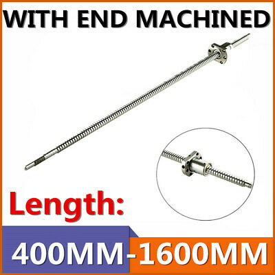 Sfu2005 Ballscrew Rm2005 L400-1000mm With Single Ballnut End Machine For Cnc Uk