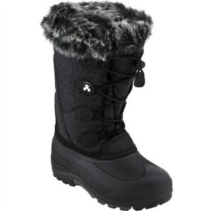 Girls KAMIK Snowgypsy Winter Boots Size US 1 in MINT Condition