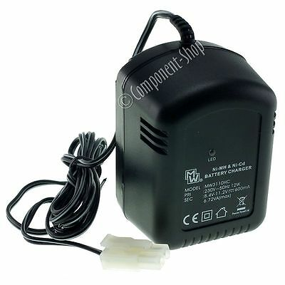 Intelligent 600mA Charger for 7.2/8.4/9.6V Airsoft Battery
