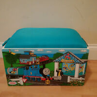 Thomas and Friends - wooden / battery trains & storage seat