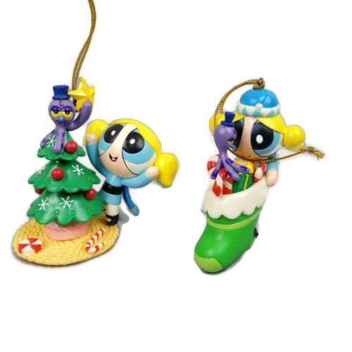 Powerpuff Girls Christmas Ornaments Octopus Tree Stocking Cartoon Network 2002