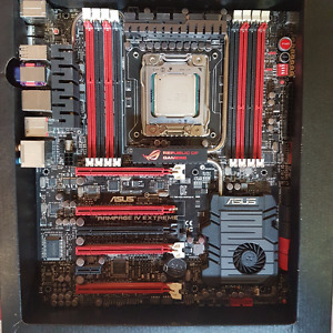 ASUS ROG Rampage IV Extreme w/i7 3820 chip and 32gb ram