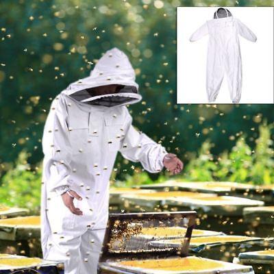 Beekeeping Veil Bee Keeping Full Body Suit Hat Smock Protective Equipment Xxl