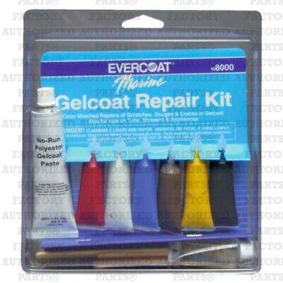 Evercoat Fiberglass Resin Marine Gelcoat Repair Kit, Boat Hull - 108000
