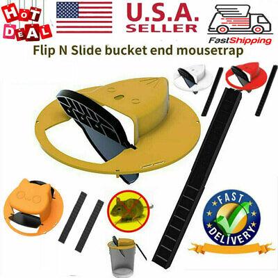 Slide Bucket Lid Mouse Rat Trap Flip N-Slide Mouse Trap Bucket Mousetrap Catcher