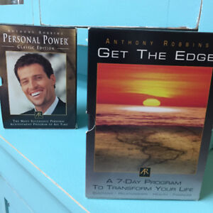 Anthony Robbins Inspirational CD's Program