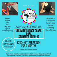Apex Dance Industry Class Pass