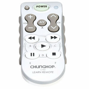 L102 Universal Learning Remote TV/VCR/SART/VCD/DVD/LD.CD/AUDIO
