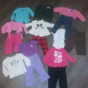Lot of baby clothes 9-12 mos all for 20$