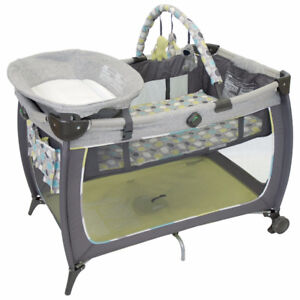 Play and Sleep for Baby - Safety 1st Prelude Play Yard - Grey Se