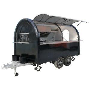 Mobile Food Truck Food Trailer Ice Cream Catering Trailer