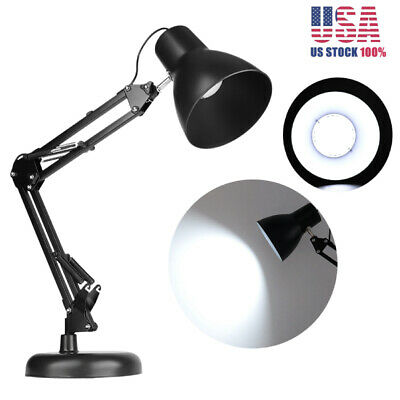 5W 30LED Flexible Lamp Swing Arm Mount Clamp Lamp Home Office Studio Desk Light