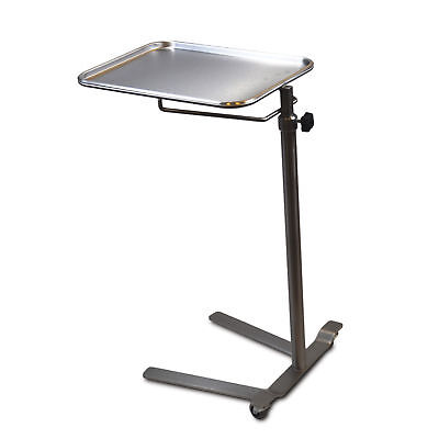 Stainless Steel Knob Control Mayo Stand 12.625 W X 19.125 L Tray Size 1 Ea